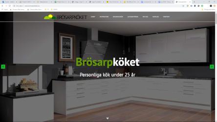 Design & Utveckling – Hemsida Brösarpköket